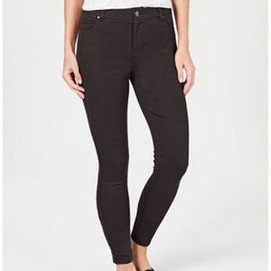 Style & Co Petite Ultra-Skinny Carbon Grey Pants 6P